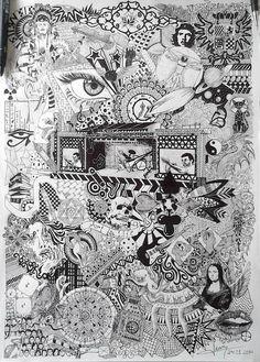 Art Doodles world