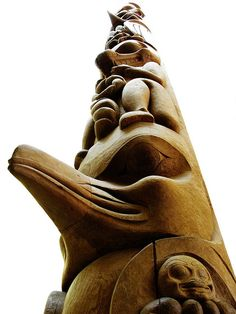Canadian Native Indian Totem Pole