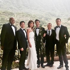 #H5O: Adam & Kono's Wedding (McBride, Kim, Park, Ian Anthony, Caan, & O'Loughlin)
