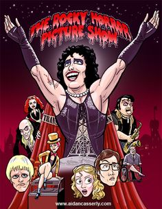 Seriously just look at Rocky's face. The Rocky Horror Picture Show, Cool Books, Good Movies, Poster Prints, Shock Treatment, Film, Horror Pictures, That's Entertainment, Artist