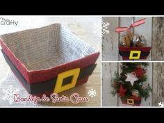 Si te gusto y quieres hacer más cosas de Navidad aquí te dejo otras ideas!  Estrellas con brilos para el árbol de cartón reciclado  Estrella de Santa Claus con foami  Coronas de Santa Claus y Galletas de Jengibre  Y también les dejo el video!!