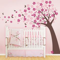 Love this wall decal!  Cherry Blossom Tree (scheme B)