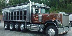 1989 Mack Superliner with Benson dump body Mack Dump Truck, Mack Trucks, Big Rig Trucks, Dump Trucks, Cool Trucks, Mack Attack, Heavy Construction Equipment, Heavy Equipment, Truck Pulls