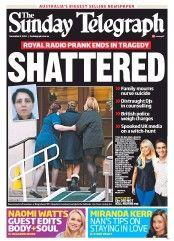 The Sunday Telegraph 9-12-2012 Australia
