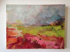 Niamh Mcconaghy- 'chill the beans', oil on calco, 42x30cm, 2014.