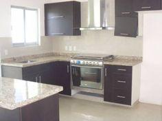 Decoración Minimalista y Contemporánea: Decoración y estilos de cocinas Kitchen Island, Kitchen Cabinets, Ideas Para, Home Decor, Kitchens, Minimalist Decor, Minimalism, Deco Cuisine, Houses