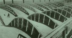 Eugene Freyssinet, Radiator Factory, Dammarie-les-Lys, France