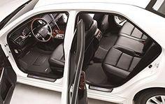 3D MAXpider Second Row Custom Fit Floor Mat for Select Toyota Camry//Lexus ES350 Models Black Classic Carpet