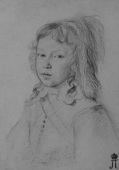 "Claude Mellan, ""Portrait of Louis XIV as a Child"" (1644-1645). Louis is at the age of 6-7 here. It means he was already the king of France and Navarre. His mother Anne of Austria is still a regent and rules together with Mazarin. Fronde will happen within 4 years. Louis XIV will become a real king 20 years after this portrait was created and will stay in history as Louis Dieudonne, Louis XIV Le Roi Soleil and finally - Louis Le Grand. Or - Louis The Great."