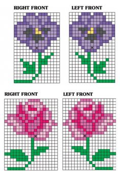 flowers graph probably one per blanket