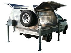 lift off ute canopy Camping Tools, Diy Camping, Camping Hacks, 4x4 Trucks, Chevy Trucks, Ute Canopy, Ute Trays, 4x4 Accessories, Camper Awnings