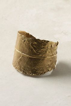 etched frond cuff.
