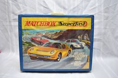 Vintage Matchbox Superfast Deluxe Collector's Case, 1970, Holds 72 cars, Matchbox Lesney, Original Diecast toy Car Collection by RememberWhenToys on Etsy