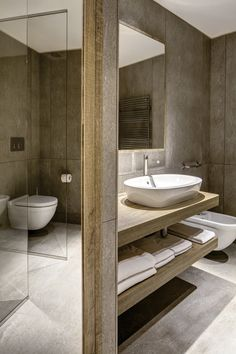 Grand #Hotel Courmayeur Mont Blanc by Studio Simonetti Srl is an example of #Design perfectly integrated with Nature.
