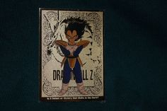 Dragon Ball Z Vegeta Gold Foil Chase Trading Card G2 1998 Funimation JPP Amada Collectible Cards, Dragon Ball Z, Gold Foil, Trading Cards, Fictional Characters, Art, Dragon Dall Z, Art Background, Collector Cards
