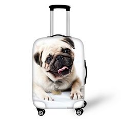 Cheap dog mitt, Buy Quality luggage louis directly from China dog tag key ring Suppliers: Brand Travel Luggage Protective Covers Animal Pet Pug Dog Cover For Inch Suitcase Elastic Luggage Cover Suitcases Cover