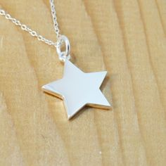 FashionJunkie4Life - Sterling Silver Star Necklace, $16.99 (http://www.fashionjunkie4life.com/sterling-silver-star-necklace/)
