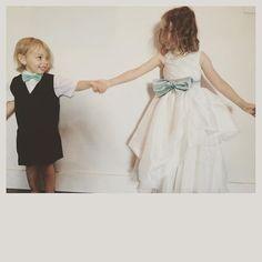 #シェアInstagram 義理のお姉さんから素敵な写真が送られてきました。リングボーイとフラワーガール♡ #フラワーガール #リングボーイ #ringboy #flowergirl