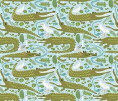 Everglades National Park  fabric by pattyryboltdesigns on Spoonflower - custom fabric