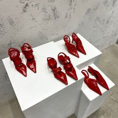 Bv woman red sandals shoes Red Sandals, Bottega Veneta, Woman, Women