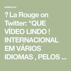 """☭ La Rouge on Twitter: """"QUE VÍDEO LINDO ! INTERNACIONAL EM VÁRIOS IDIOMAS , PELOS 100 ANOS DO PARTIDO COMUNISTA CHINÊS ! IMPERDÍVEL !… """" Languages"""