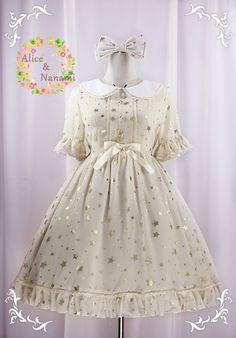 Lolibrary | TaoBao - OP - Alice Garden Alice & Nanami Star Chiffon OP