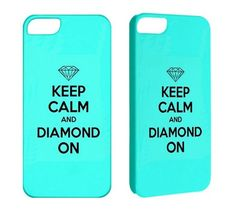 Keep Calm Case for iPhone 5 Case iPhone 4 4S 3G 3GS iPod Touch 5 4G Case Keep Calm Tiffany Blue Cool Cell Phone Cases iPhone Cover. $17.50, via Etsy.
