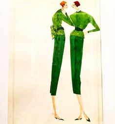 """""""❣ For me, Isaac Mizrahi is to fashion illustration what Egon Schiele is to painting. What I love about Isaac Mizrahi's sketches are that the proportions…"""""""