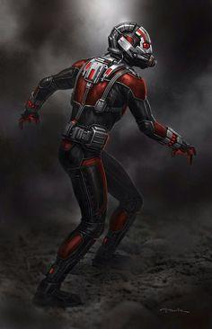 Ant-man concept art suit