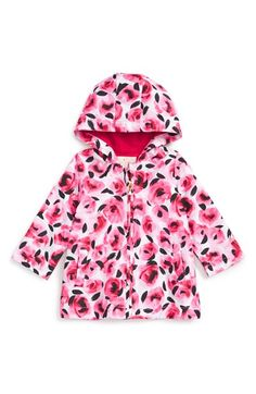 kate spade new york floral print raincoat (Baby Girls) available at #Nordstrom