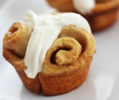 CINNAMON ROLL MUFFINS - myrecipemagic.us Cinnamon Roll Muffins, Cinnamon Rolls, Magic Recipe, Bread Rolls, My Recipes, Baked Goods, Deserts, Brunch, Sweets