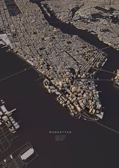 Luis Dilger - 3D layout of Manhattan