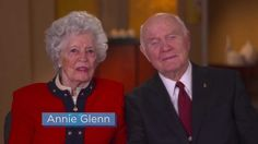 Get Help . . . Don't Wait. A message from Annie and John Glenn.