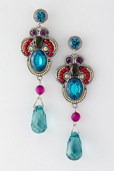 Athena Chandelier Earrings by FOXYQUEEN