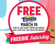 FREE Peeps at Kmart Today on http://www.icravefreebies.com/
