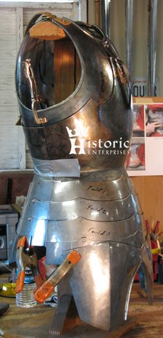 15th Century Milanese Cuirass and G. Bascinet -- A Diary... -- myArmoury.com