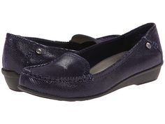 Anne Klein Anne Klein  AKEvolved Reptile Womens Slip on Shoes for 47.99 at Im in!