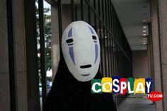 No-Face Cosplay from Spirited Away at AnimeFest