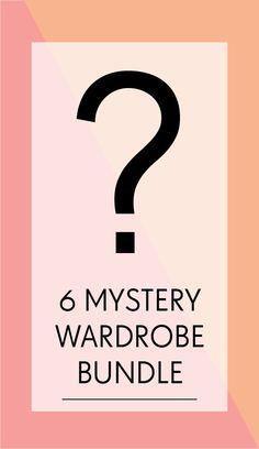 6X Mystery Wardrobe Bundle