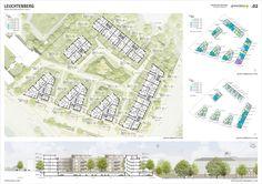 greenbox (2016): Leuchtenberg, Neubau eines Wohnquartiers, Neuss (DE), via competitionline.com