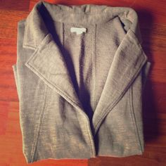 Cotton blazer NWT Caslon chocolate brown 100% cotton blazer. Brand new, never worn. NWT.  Purchased from Nordstrom last year. caslon Jackets & Coats Blazers