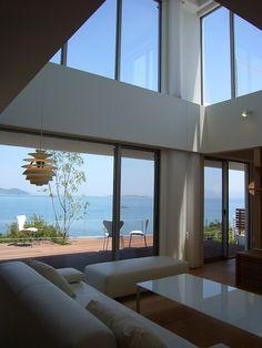 SEE SEA HOUSE (海が見える家) (リビング)