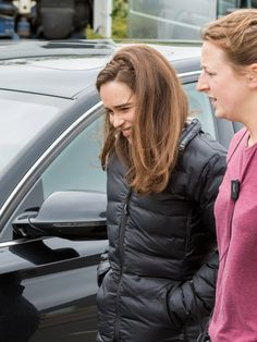 Emilia Clarke, Wales Uk, Mother Of Dragons, Face Claims, Woman Face, Absolutely Gorgeous, Canada Goose Jackets, That Look, Winter Jackets