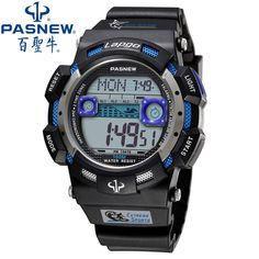 4a9d4c81e8c PASNEW Relógios Dos Homens Do Esporte Marca de Luxo Relógio Eletrônico  Digital Relógio Militar 100 M À Prova D  Água relógios de Pulso dos homens  Presente ...