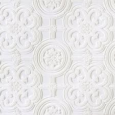 "Brewster Home Fashions Anaglypta Paintable Egon Textured Wallpaper Size: Wallpaper 396"" x 20.5"""