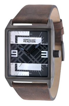 Kenneth Cole Reaction Plaid Dial Men's watch #RK1278 Kenneth Cole. $85.00