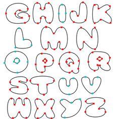 18 Best Bubble Letters Images Bubble Letter Fonts Bubble Letters
