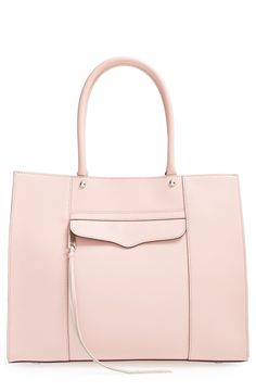 Pretty in pink   Rebecca Minkoff tote.