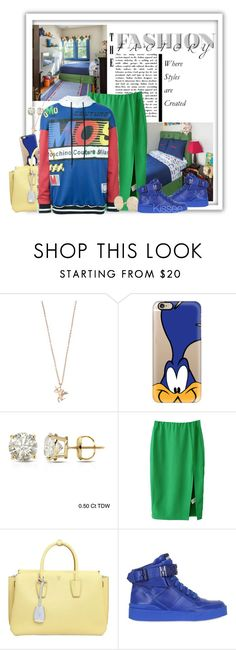 """""""Untitled #1080"""" by kisses4u ❤ liked on Polyvore featuring Aamaya by priyanka, Casetify, Auriya, MCM, Moschino and Linda Farrow"""
