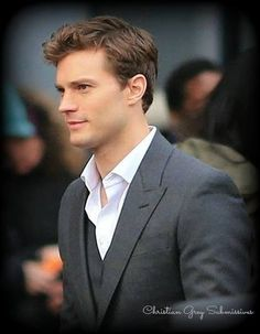 Jamie Dornan as (hot, rich, sexy) Christian Grey